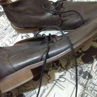 formal shoes dark brown