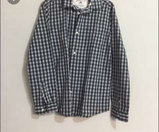 Zara Plaid Long sleeves