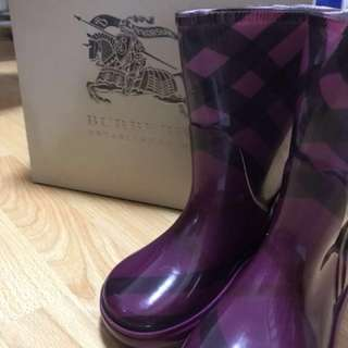 Burberry Rainboot 童裝水鞋 Size 29-30