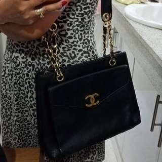 Chanel Vintage Caviar Tote