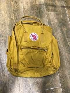 Kanken Mustard Bagpack Authentic