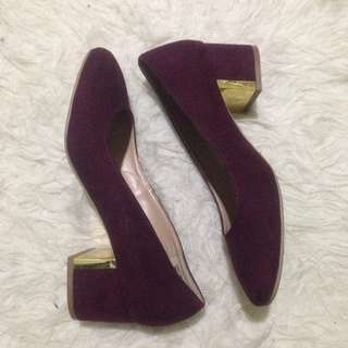 payless mulberry heels