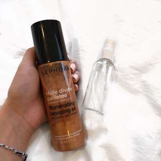 Sephora illuminating bronzing oil share in jar