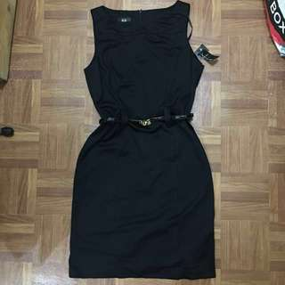 LARGE AGB Black Office Dress