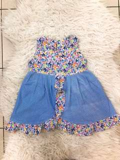 Dress anak bunga