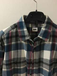 Uniqlo Plaid Shirt