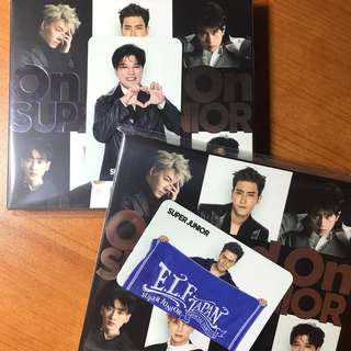 (代友放)Super Junior日單On and On CD