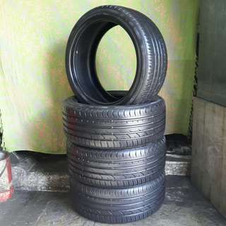 Used 215/40 R17(Sold) Continental (4pcs) 🙋‍♂️