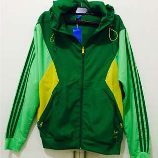 Adidas Originals Brazil windbreaker (Green)