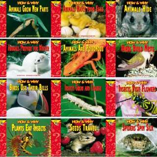 How and Why Science Readers - SET OF 12 BOOKS
