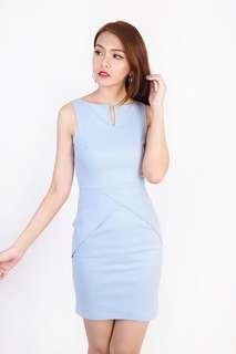LF> MGP Kerene Sleek Dress is Sky Blue