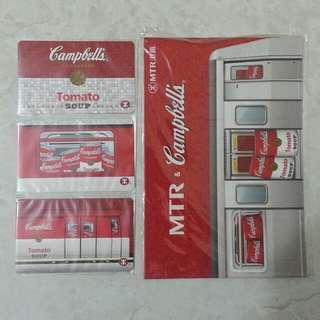 MTR x Campbell 罐頭紀念套票