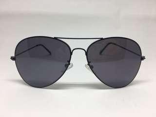 Forever 21 Black Aviator Sunglasses