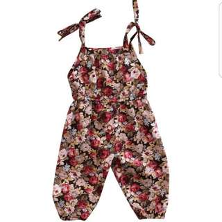 ❤New Floral Baby/Kids Romper