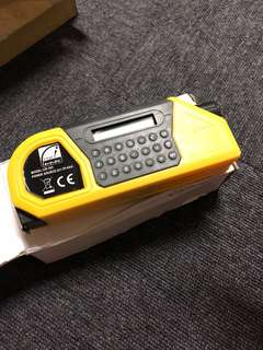 3 In 1 functional laser level & calculator and tape measure