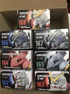 全新 fw converge #08 gundam god unicorn z plus gelgoog 162 162 164 165 166 167 168