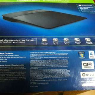 Linksys E1200 | Wireless-N Router