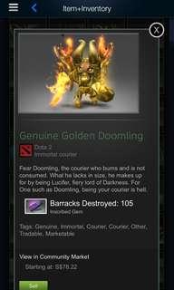 Golden Doomling Dota 2
