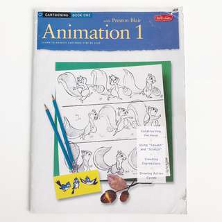 ANIMATION Learn to Cartoon by Preston Blair