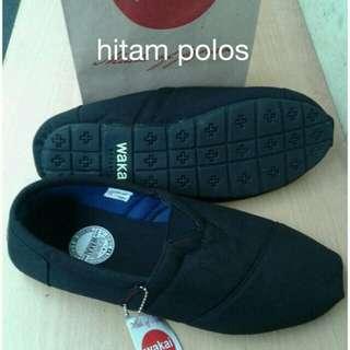 Sepatu  grade ori slip on wakai