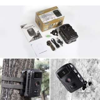 """Trail Camera, Aoleca Wildlife Surveillance Game & Hunting Camera Waterproof HD 2.4"""" LCD Digital Screen Infrared Sensor Scouting Camera with 65ft (20m) Night Vision Distance"""