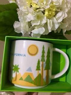Starbucks Mug YAH Collection - California