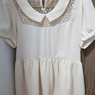 Lowrys Farm White Dress