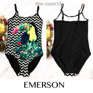 Branded Emerson Teen's One Piece Swimsuit KA8