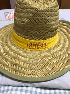 Light Brown Australian Outback spectacular natural straw hat