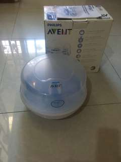 VGUC Philips Avent Microwave Steam Sterilizer