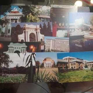 清華大學 明信片 十張