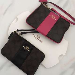 Coach Wristlet - BRAND NEW (Limited pieces)