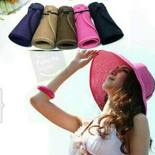 Foldable Summer Beach Hat