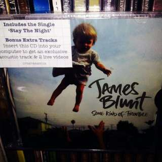 James Blunt	-	Some Kind Of Trouble CD	(Sealed)