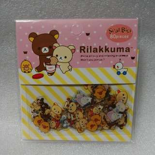 Rilakkuma Seal bits | Stickers