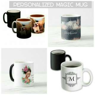 Personalized color changing mug souvenir