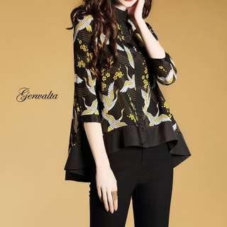 Gerwalta Shirt Blouse. S-2XL.