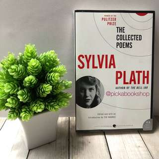 [Ready Stock] The Collected Poems - Sylvia Plath