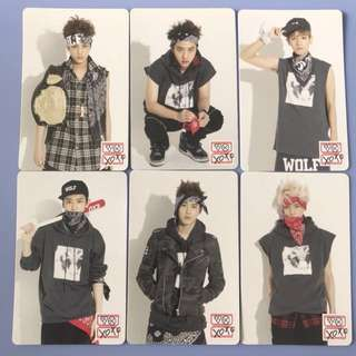 [WTS] EXO (ONLY LAY LEFT) BWCW Popup Store Stationary Photocards