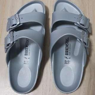 Silver Birkenstock Arizona Eva Sandals