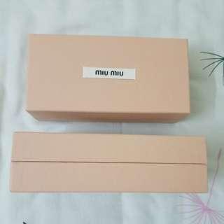 Miu Miu sunglasses box size 18x8x6cm