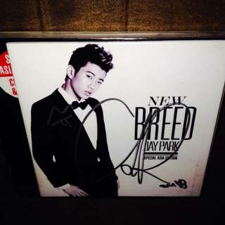 Jay Park - New Breed (Special Asia Edition, CD+DVD)(Sealed)