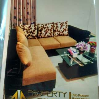 Gebyar promo tnpa dp sofa L bed hanya bayar 199 rb