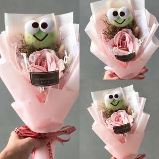 🔥CLEARANCE SALE KEROPPI SOAP ROSE BOUQUET
