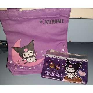 Kuromi袖珍手抽袋+咭片套