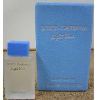 [BNIB] D&G Light blue Femme 4.5ml