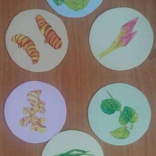 Stickers Vegetable series @ Haus Craft by JONA