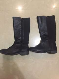 Nine West Leather Boots (Original 💯)