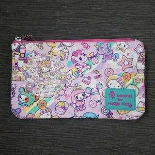 BNWT Tokidoki × Hello Kitty Pouch
