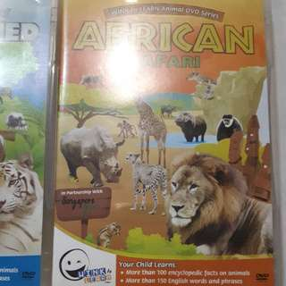 Animal DVD encyclopedic DVDs